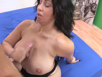With a woman such as Martita, what we all want is to cum on her huge perfect natural tits.