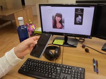 Otra chica de la limpieza pillada en una pagina de contactos en internet, cae en nuestras garras
