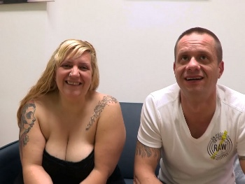 Erika and Dante, a couple with a desire for swinger sex.