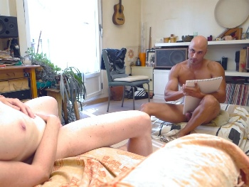 The horny, buxom mature we're going to paint her face in jizz on ;)