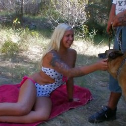 Milf Laura Blume gets horny with muscular bad boys like Rob