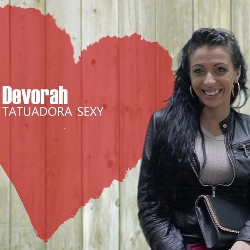 The submissive tattoo artist and the horny latino. Debora, welcome to First FAKings!
