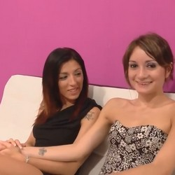 Gym lessons with Valentina and Carol, the porn girlfriends tasting their first dicks.