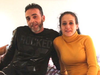 LOLITA and daddy's friend. Lucia, 25, Cristian, almost 50. 8 years married together.