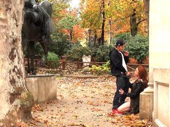 Catalonian tourist in Madrid discovers the charms of the capital by the hands of Dimas.
